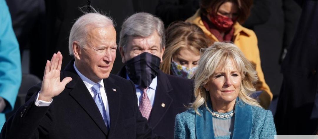 Biden toma posse  e pede ao país que supere divisões