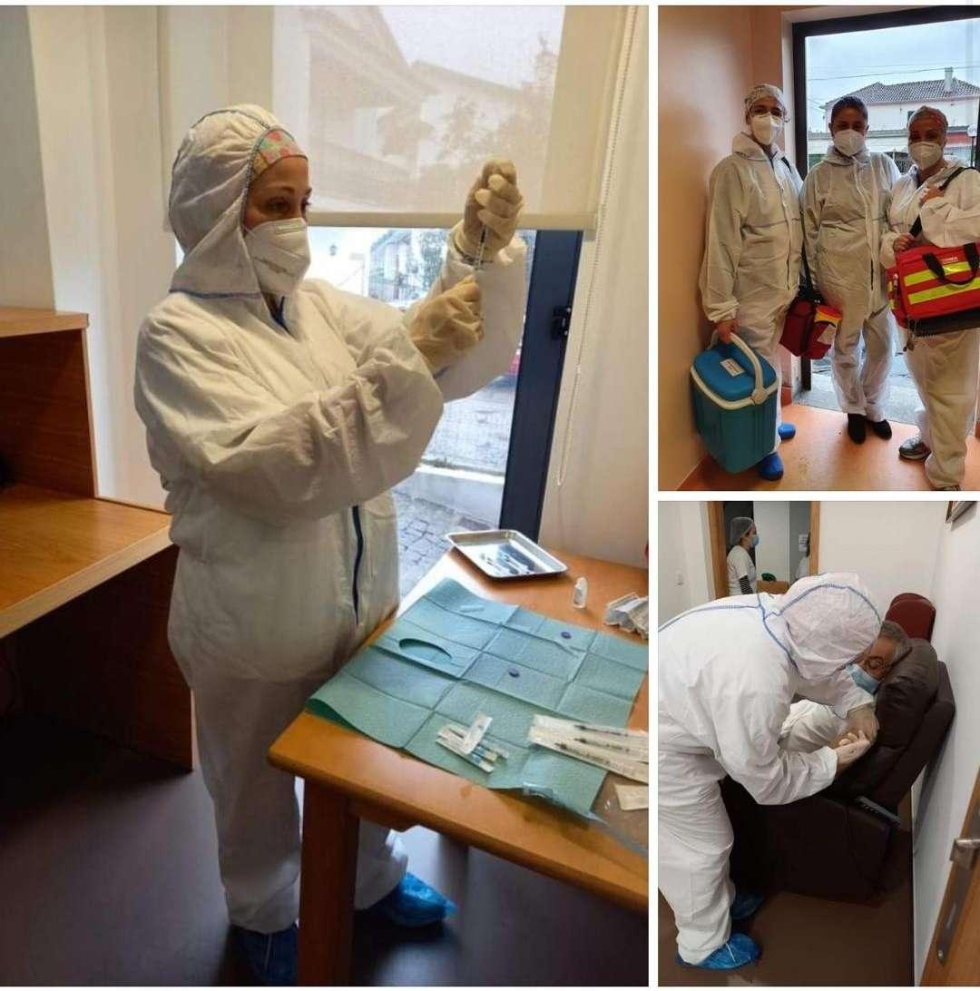 Lares de Castelo de Paiva começam o plano de vacinação contra a covid-19