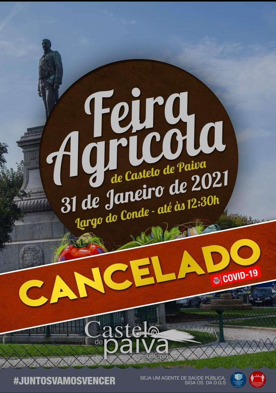 Feira Agrícola foi cancelada