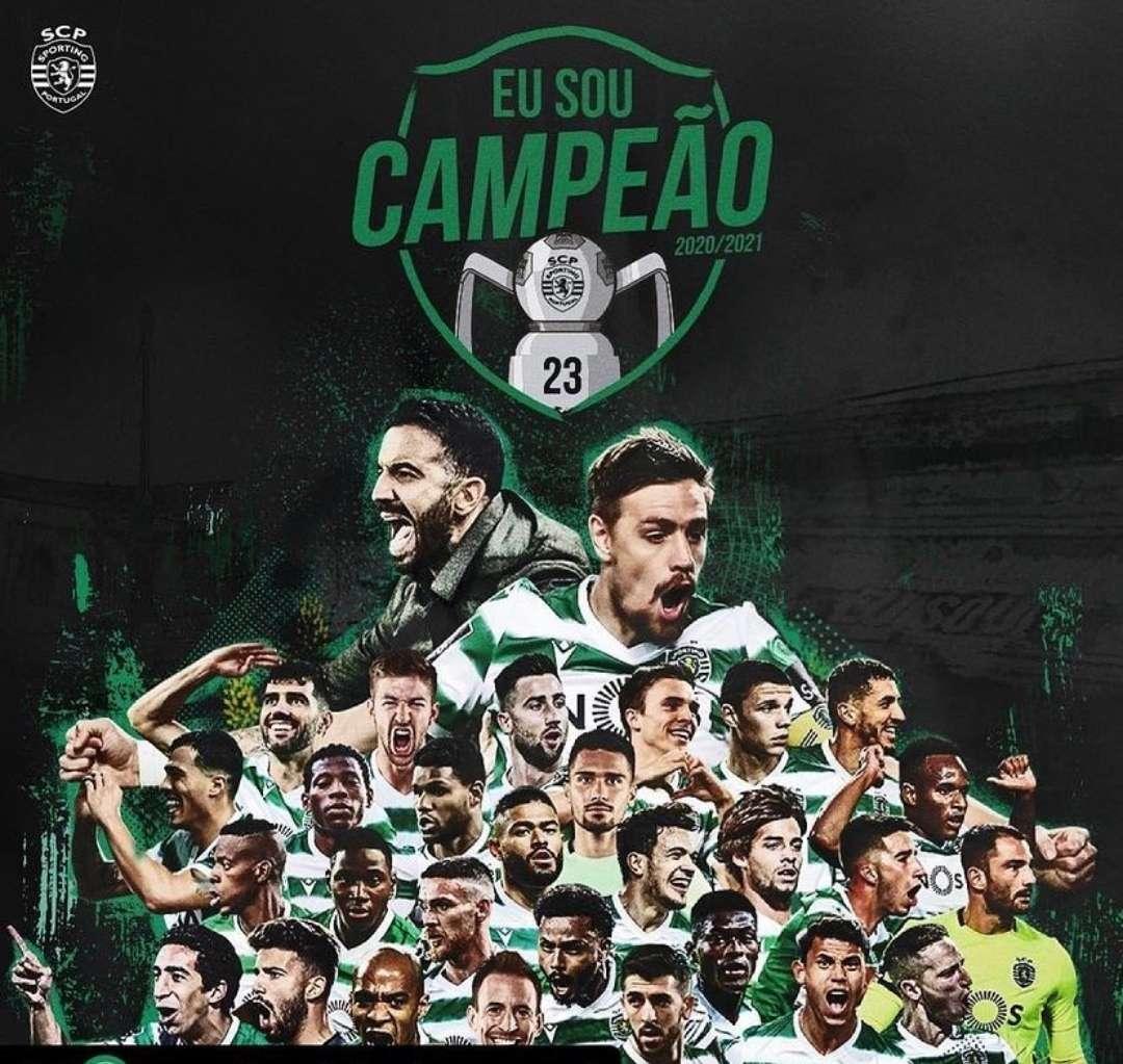 19 anos depois o Sporting é campeão nacional