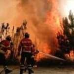 Mais um incêndio florestal em Bairros